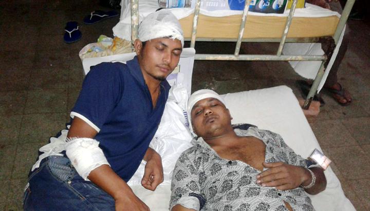 ইসলামপুরে প্রতিপক্ষের হামলায় মহিলাসহ ৫ জন আহত