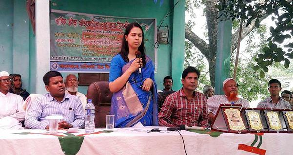 দেশকে এগিয়ে নিতে শিক্ষার বিকল্প নেই : জৈন্তাপুর উপজেলা নির্বাহী কর্মকর্তা মৌরীন