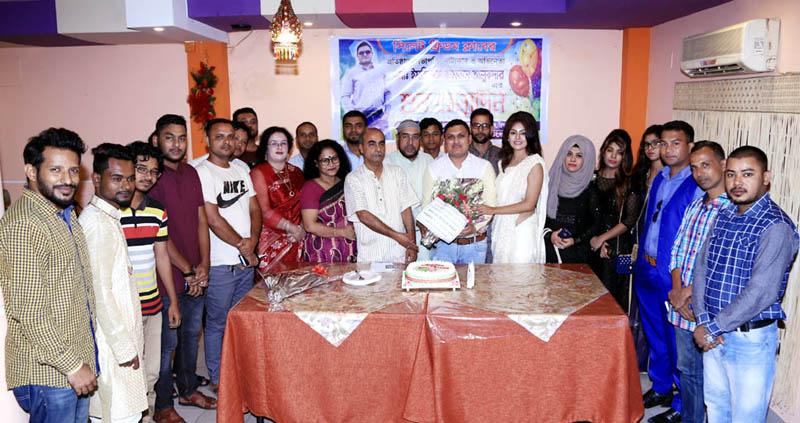 নাট্যকার ও অভিনেতা ইমতিয়াজ কামরান তালুকদার'র শুভ জন্মদিন পালন