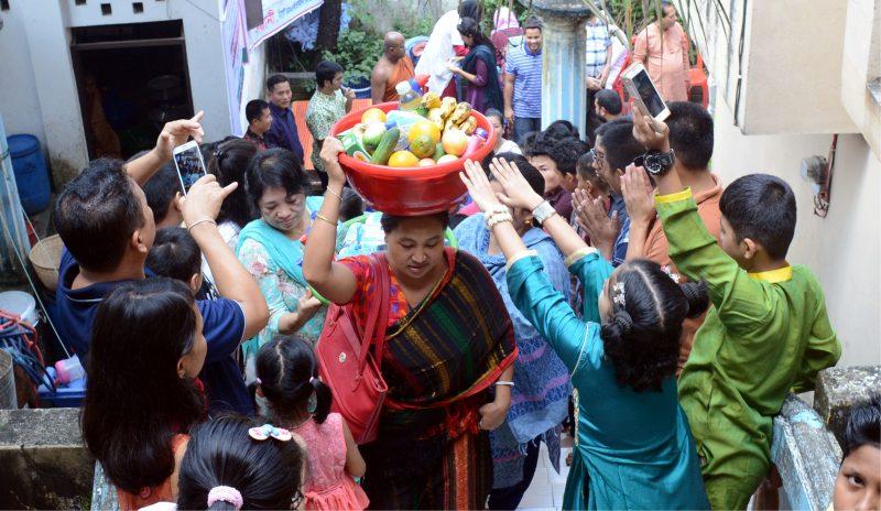 সিলেট বৌদ্ধ বিহারে শুভ প্রবারণা পূর্ণিমা উদযাপিত