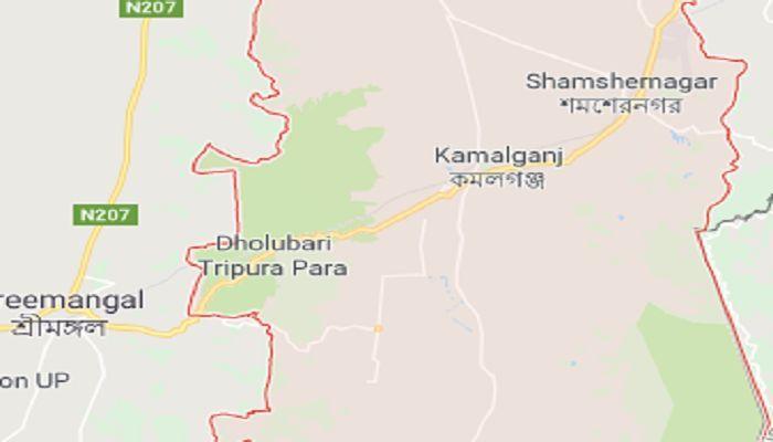কমলগঞ্জে রাজনৈতিক ব্যানার, ফেস্টুন অপসারণ