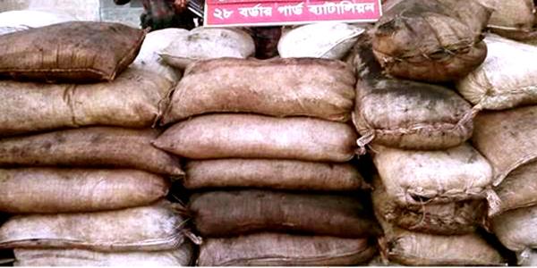 সুনামগঞ্জে মাদকসহ ৫০টন কয়লা পাচাঁর,২টন আটক করেছে বিজিবি