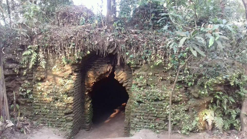 তাহিরপুরে লাউড় রাজ্যের খনন কাজে স্বার্থবাদী মহলের বাধা