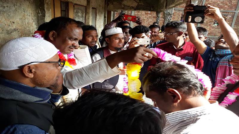 তাহিরপুরে বিএনপির অর্ধশতাধিক নেতাকর্মী আওয়ামীলীগে যোগদান
