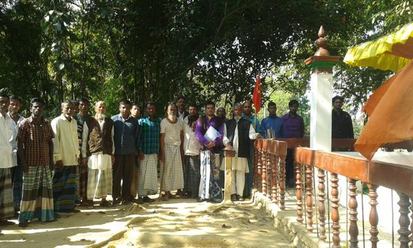 খাদিমনগর পাঠানগাঁওয়ে হযরত শাহ মাদার (র:) মাজার পরিচালনা কমিটি গঠন