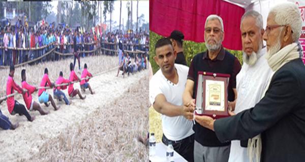 বিশ্বনাথে রশি টান প্রতিযোগীতায় 'আলী ভাই' জুটি চ্যাম্পিয়ন