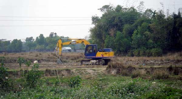 জৈন্তাপুরের ৩টি হাওরে ৪শত একর জমিতে বোরো চাষ অনিশ্চিত