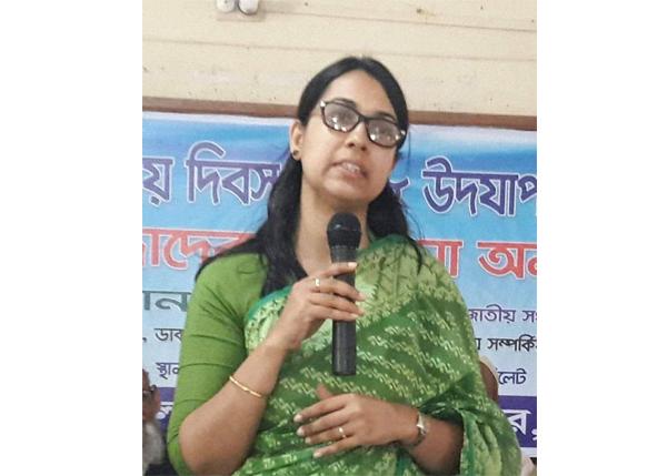 জৈন্তাপুর উপজেলা নির্বাহী অফিসার পেলেন শুদ্ধাচার পুরস্কার