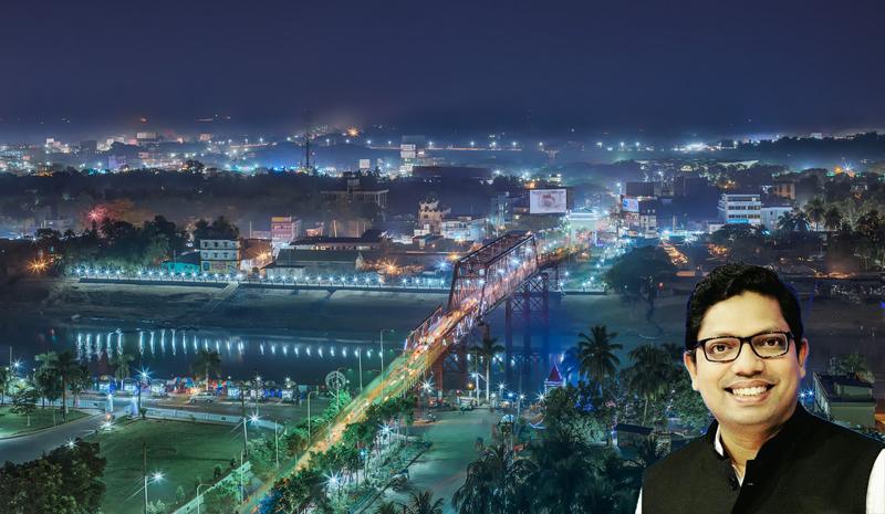 সিলেট দেশের প্রথম স্মার্ট ডিজিটাল শহর