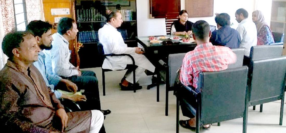 কানাইঘাটে ইউনিয়ন স্বাস্থ্য ও পরিবার কল্যাণ কমিটির সভা