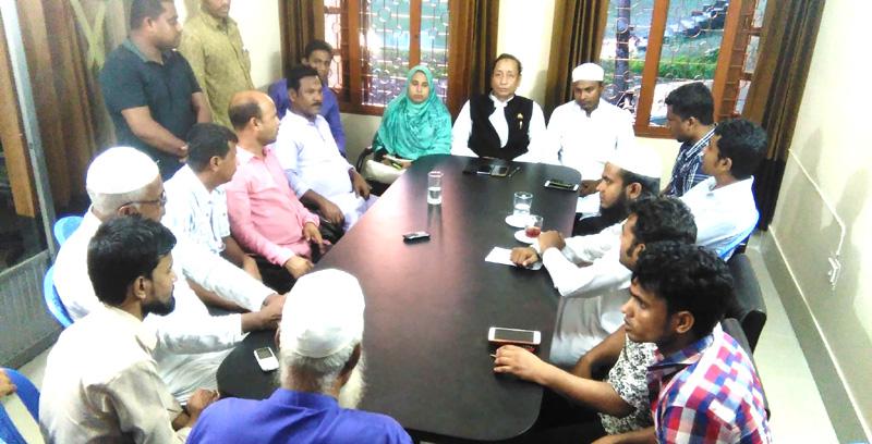 কানাইঘাট উপজেলা পরিষদের মাসিক সভায় যোগদান করেননি চেয়ারম্যানরা