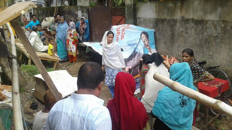 আখালিয়ায় কলোনী দখলের চেষ্টা: ১০ পরিবারকে উচ্ছেদ, পুলিশি হস্তক্ষেপে ঘরে ফিরল ভাড়াটেরা