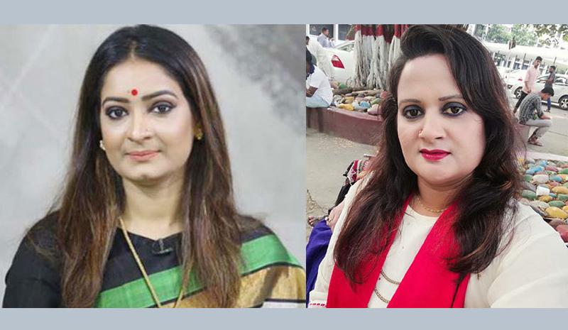 নিপুণ-রুমার নেতৃত্বে জাতীয়তাবাদী যুব মহিলা দল!