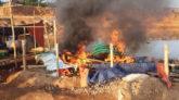 কোম্পানীগঞ্জে ১১টি লিষ্টার মেশিনসহ যন্ত্রাংশ ধ্বংস