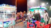 আবারো চটপটি ব্যবসায়ীদের দখলে কাজিরবাজার সেতু: পথচারীদের চলাচল বন্ধ