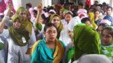'ভুল চিকিৎসায়' নার্সের মৃত্যু, সহকর্মীদের বিক্ষোভ