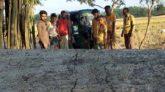 কানাইঘাটে রাস্তার সিসি ঢালাইয়ে নিম্ন মানের কাজের অভিযোগ