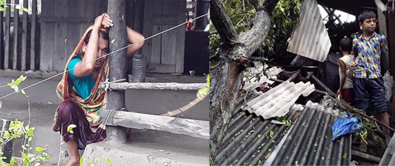 বুলবুল'র তাণ্ডবে লণ্ডভণ্ড সাতক্ষীরা, ৫০ হাজার ঘরবাড়ি বিধ্বস্ত