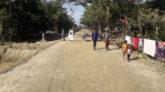 গোয়াইনঘাটে ৪০ কিলোমিটার মাটির সড়ক নির্মাণে কাজ করছেন ৪ হাজার শ্রমিক