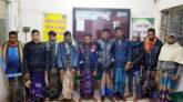 কোম্পানীগঞ্জে পুলিশের অভিযানের ভয়ে ১০ ডাকাতের আত্মসমর্পণ
