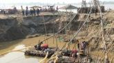 ভোলাগঞ্জে নদীতে প্রশাসনের অভিযান: বহাল তবিয়তে শাহ আরফিন টিলার ধ্বংস লীলা