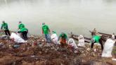 ক্লিন ফেঞ্চুগঞ্জের উদ্যোগে কুশিয়ারা নদীর তীরে পরিচ্ছন্নতা অভিযান