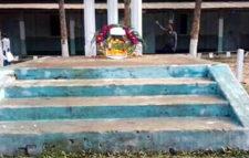 সুনামগঞ্জে বরাদ্দের টাকা লুটপাট: সংস্কার বিহীন শহীদ মিনারেই পুষ্পস্তবক অর্পণ