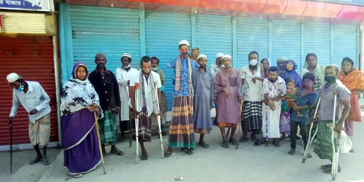 জগন্নাথপুরে ভিক্ষুকদের হাহাকার