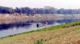 বিশ্বনাথে নদী থেকে প্রভাবশালীদের মাটি উত্তোলন