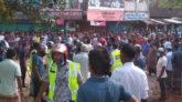 সুনামগঞ্জের দোয়ারাবাজারে দু'গ্রামবাসীর মধ্যে তিনদফা সংঘর্ষে আহত অর্ধশতাধিক