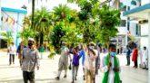 শাহজালাল (রহ.) মাজারের লোকসমাগম ছাড়াই লাকড়ি তোড়া উৎসব সম্পন্ন