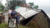 দোয়ারাবাজারে বন্যার আশঙ্কা: নদীগর্ভে ২ দোকান
