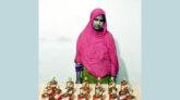 কোম্পানীগঞ্জে পুলিশের অভিযানে ভারতীয় মদসহ নারী গ্রেফতার