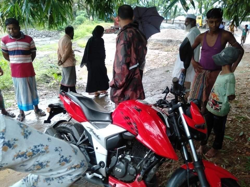 জৈন্তাপুরে বিজিবির অভিযানে ভারতীয় চোরাই মোটরসাইকেল আটক