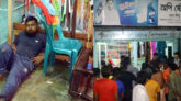 নগরীর মাছিমপুরে জুয়াড়ীদের হামলায় ব্যবসায়ী আহত, দোকান ভাংচুর