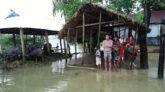 জৈন্তাপুর উপজেলায় অতিবৃষ্টি  পাহাড়ী ঢলে নিম্নাঞ্চল প্লাবিত