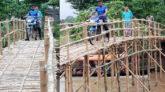 গোয়াইনঘাট রুস্তমপুরে একটি ব্রিজের জন্য ১০ গ্রামের মানুষের দুর্ভোগ