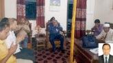 কানাইঘাটে অসুস্থ সাংবাদিক এখলাছের পাশে থানার ওসি ও প্রেসক্লাব নেতৃবৃন্দ