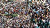 সম্রাটের মুক্তি চেয়ে আদালতের বাইরে হাজার হাজার নেতা-কর্মীর স্লোগান