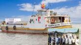 বাণিজ্যের নতুন দ্বার উন্মোচিত: জকিগঞ্জ হয়ে নৌপথে ভারতে যাচ্ছে সিমেন্ট
