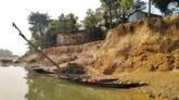 দোয়ারায় খাসিয়ামারা নদী গর্ভে বিলীন হওয়ার পথে বাজার, ফসলি জমি ও বসতবাড়ি