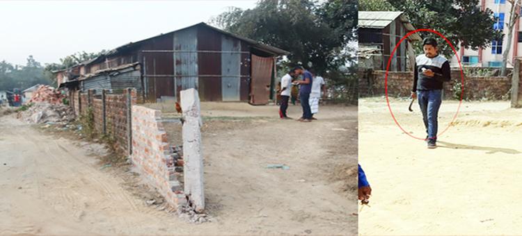 শাহপরান বিআইডিসি এলাকায় জমি  দখলের চেষ্টা : হামলা ভাংচুর