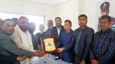 গোয়াইনঘাটে সহকারী পুলিশ সুপার নজরুল ইসলাকে বিদায় সংবর্ধনা প্রদান