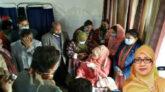 টিকা নিবেন ঢাকায়, এমপি ফটোসেশন করলেন ব্রাহ্মণবাড়িয়ায়