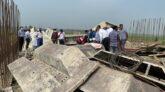 সুনামগঞ্জে নির্মাণকাজ শেষের আগেই ১৫ কোটি টাকার সেতু ধসে খালে!