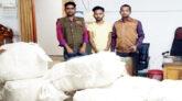 জৈন্তাপুরে গোয়েন্দা পুলিশের অভিযানে ১৫ বস্তা ভারতীয় কাপড়সহ চোরাকারবারি আটক