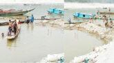 জাফলং বল্লাঘাট পর্যটন এলাকা খাবলে খাচ্ছে 'পাথরখেকো' নজরুল ও আবির