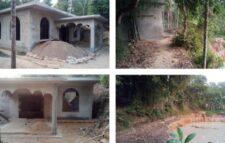জৈন্তাপুরে টিলা কেটে মসজিদ ধ্বংসের পাঁয়তারা