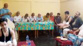 গোলাপগঞ্জে যুবকের উপর সন্ত্রাসী হামলা, এলাকাবাসীর প্রতিবাদ সভা