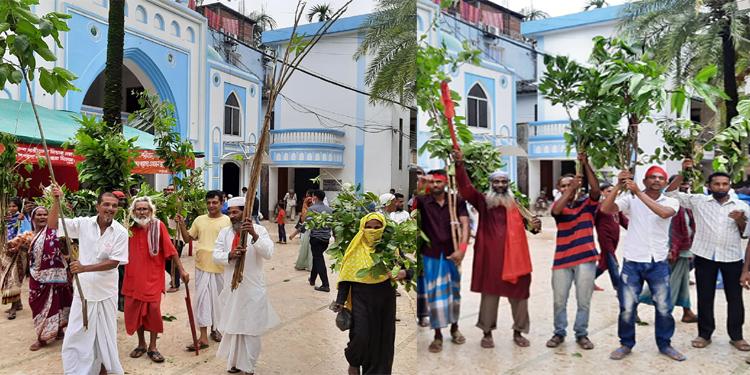 শাহজালালের 'লাকড়ি তোড়া' উৎসব সম্পন্ন, ভক্তদের ঢল